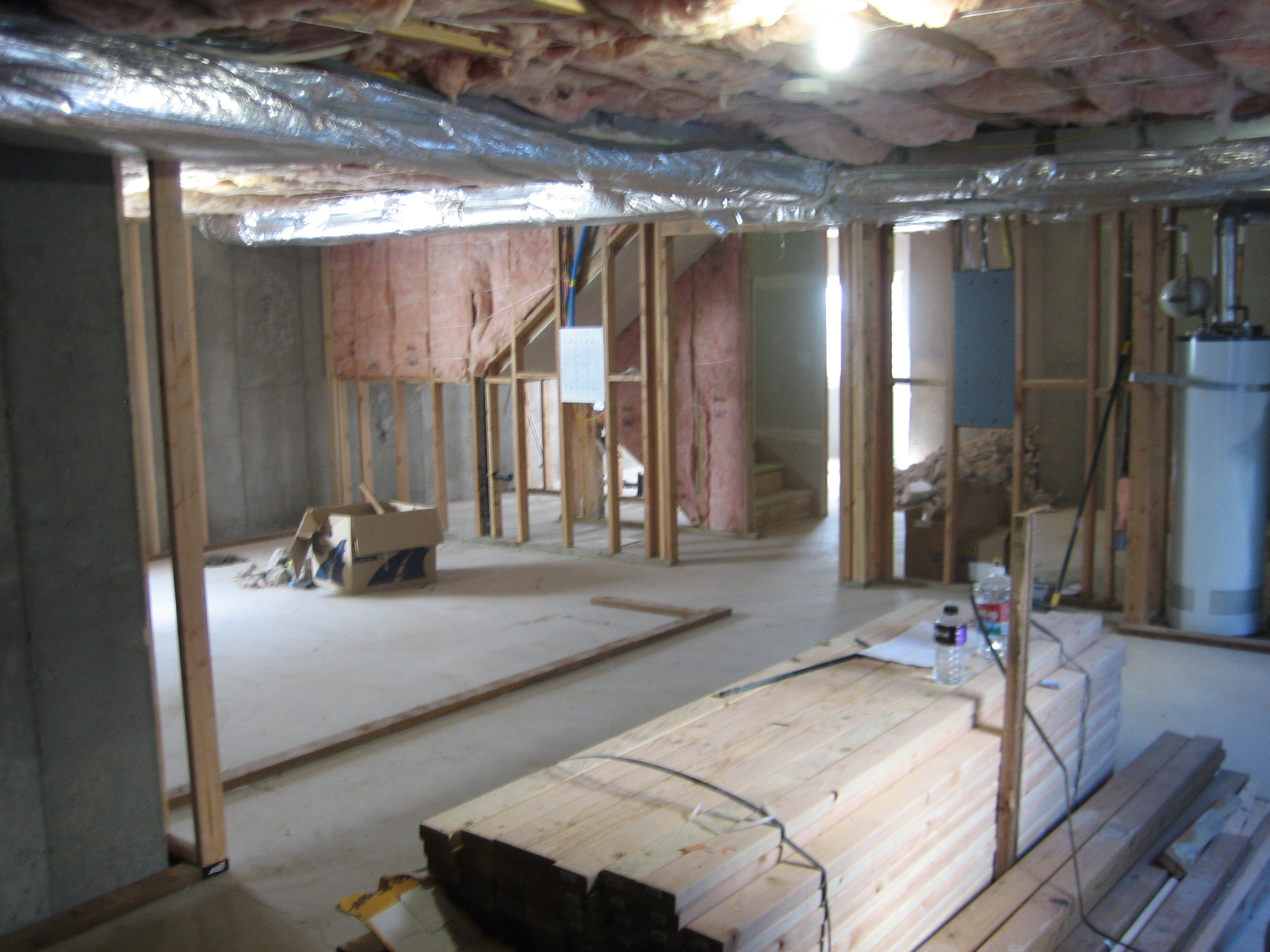 Basements arm strong construction for Cost to finish basement utah